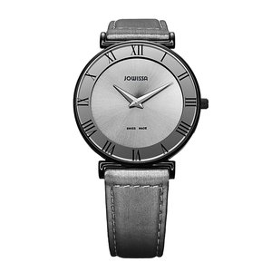 JOWISSA Watch Stainless Steel Mineral glass Leather Satin