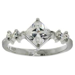 Ring Silver 925 Crystal
