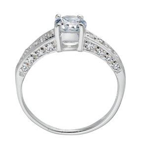 Anillo Plata 925 Cristal