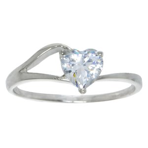Ring Silver 925 zirconia Heart Love