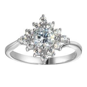 Fingerring Silber 925 Zirkonia