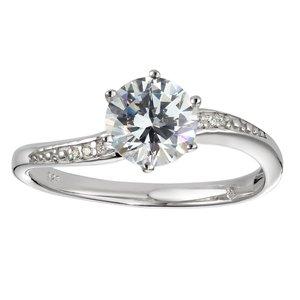 ring Zilver 925 Zirkonia