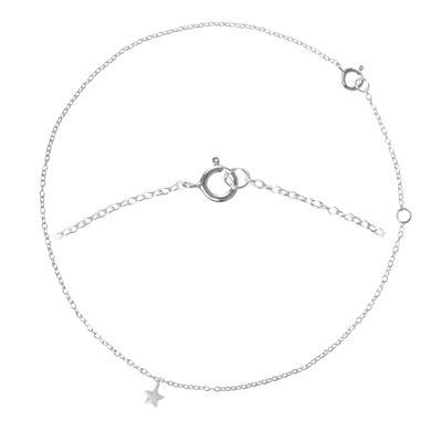 Fusskettchen Silber 925 Stern