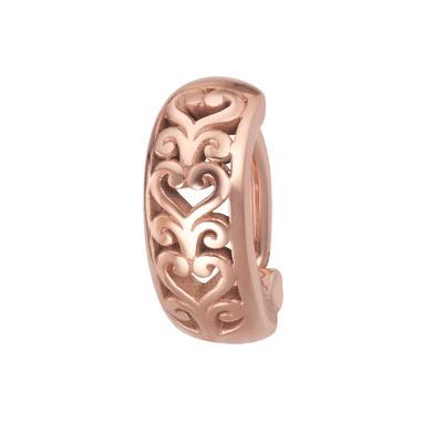 Piercing ventre Metallo chirurgico 316L Rivestimento PVD (colore oro) Cuore Amore Disegno_tribal Motivo_tribal