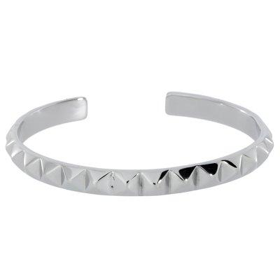 Bracelet rigide Acier inoxydable Triangle