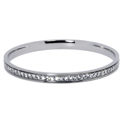 Bracelet rigide Acier inoxydable Cristal Swarovski Époxy
