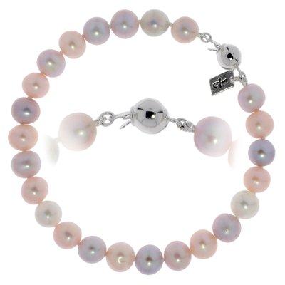 Bracelet Perles d´eau douce Argent 925