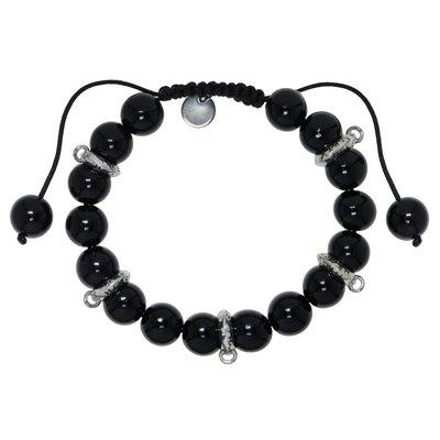 Bracelet Verre Acier inoxydable Nylon