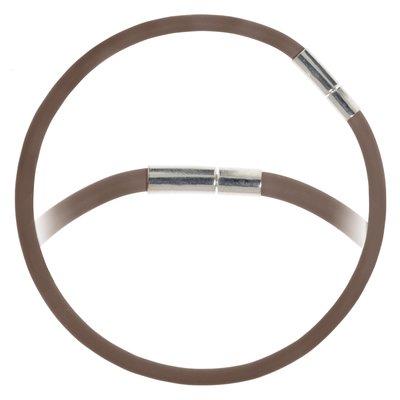 Bead-Armband PVC Messing rhodiniert