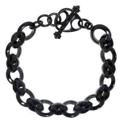 Armband Edelstahl PVD Beschichtung (schwarz)