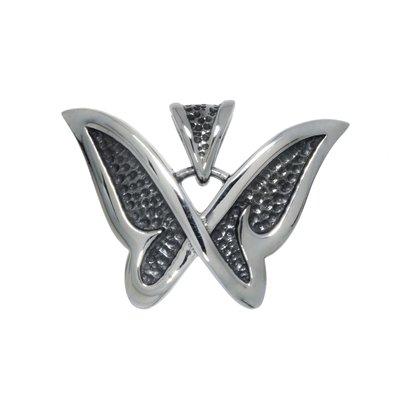 Edelstahl-Anhänger Edelstahl Schmetterling Sommervogel