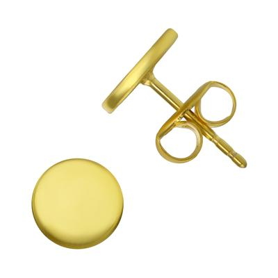 Orecchini Acciaio inox Rivestimento PVD (colore oro)