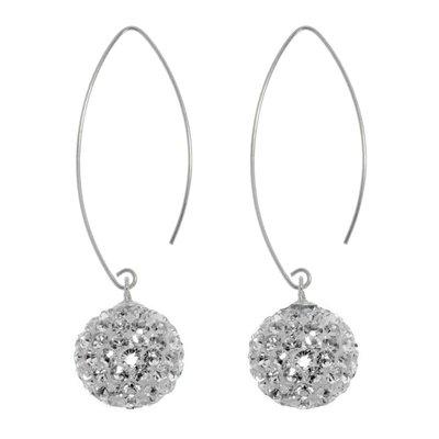 Ohrhänger Silber 925 Kristall