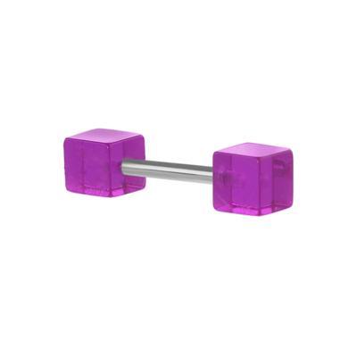 Fake-Plug Acrylglas Chirurgenstahl 316L