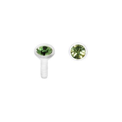 Internal-Piercing Bioplast Swarovski Kristall