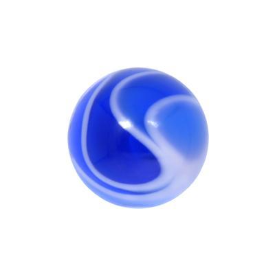 Piercingverschluss Acrylglas Welle