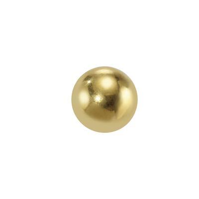 Piercingverschluss Chirurgenstahl 316L Gold-Beschichtung (vergoldet)