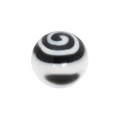 Piercingverschluss Acrylglas Spirale
