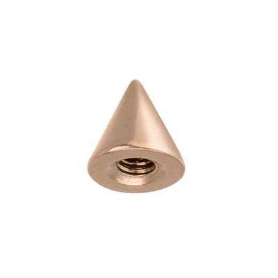 Piercingverschluss Chirurgenstahl 316L PVD Beschichtung (goldfarbig)