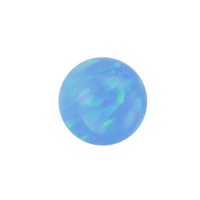 Piercingverschluss Synthetischer Opal