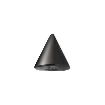 1.2mm Piercingverschluss Chirurgenstahl 316L PVD Beschichtung (schwarz)