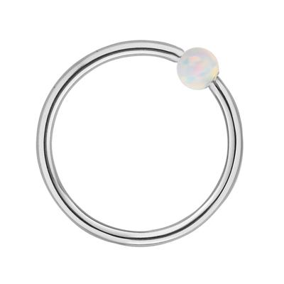 1.2mm Piercingstab Chirurgenstahl 316L Synthetische Perle