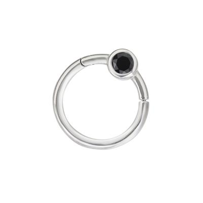 1.2mm Piercingstab Chirurgenstahl 316L Hochwertiger Kristall
