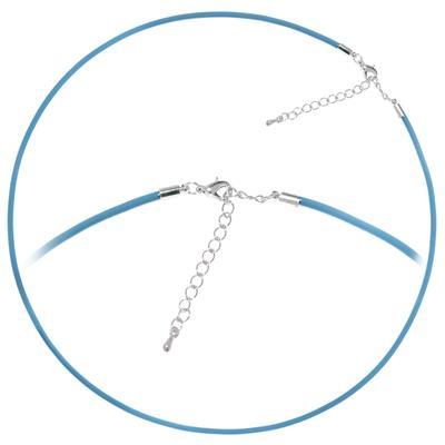 Kinder Halskette PVC Edelstahl