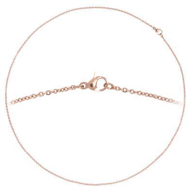 Kinder Halskette Edelstahl Gold-Beschichtung (vergoldet)
