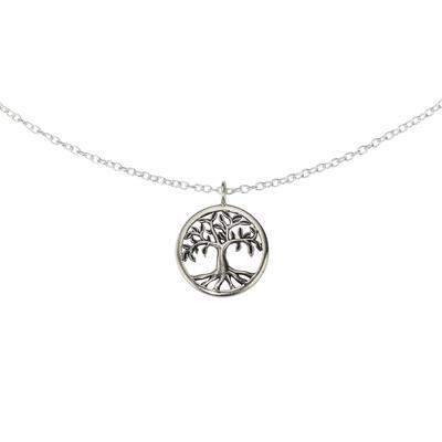 Pendentif de chaîne Argent 925 Arbre arbre_de_vie