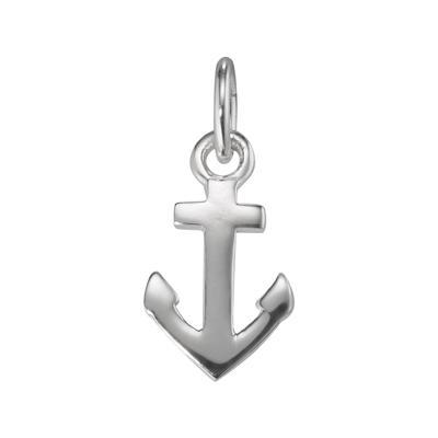 Kinder Halskette Silber 925 Anker Seil Schiff