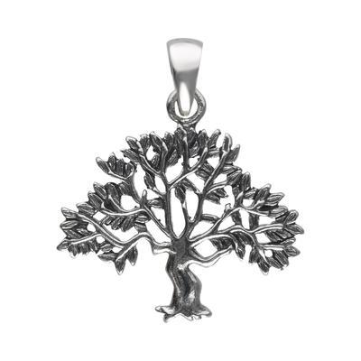 Silber-Anhänger Silber 925 Blatt Pflanzenmuster Florales_Muster