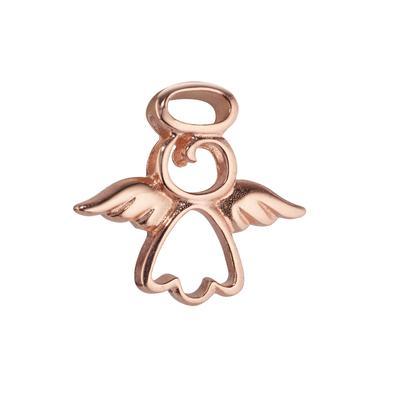 Silber-Anhänger Silber 925 Gold-Beschichtung (vergoldet) Engel Flügel