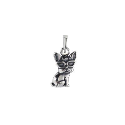 Silber-Anhänger Silber 925 Hund Wolf