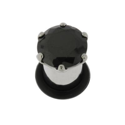 Plug Chirurgenstahl 316L Kristall PVC