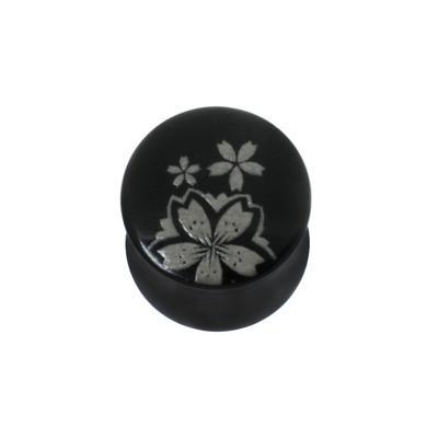 Plug Acrylglas Blume