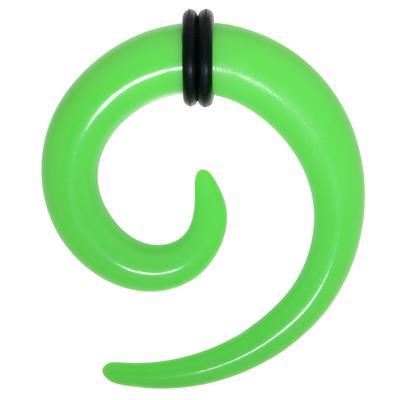 Plug Vetro acrilico PVC Spirale