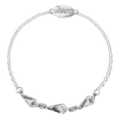 Silber-Armkettchen Silber 925 Swarovski Kristall