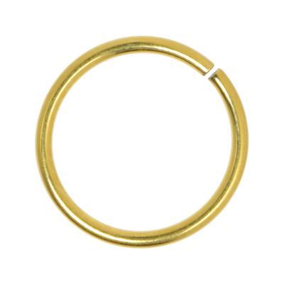 Nasenring Chirurgenstahl 316L Gold-Beschichtung (vergoldet)