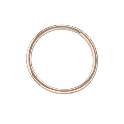 Naso Metallo chirurgico 316L Rivestimento PVD (colore oro)