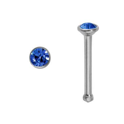 Nasenpiercing Chirurgenstahl 316L Hochwertiger Kristall