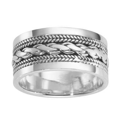 Fingerring Silber 925 Tribal_Zeichnung Tribal_Muster Ewig Schlaufe Endlos