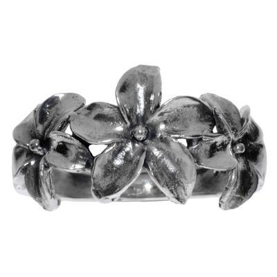 Fingerring Silber 925 Blume