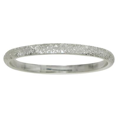 Fingerring Silber 925 Diamanten Staub Ruthenium Beschichtung