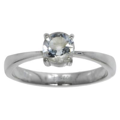 Fingerring Silber 925 Bergkristall