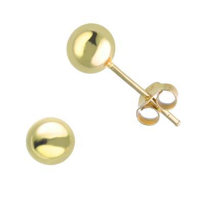 Ohrstecker Silber 925 Gold-Beschichtung (vergoldet)