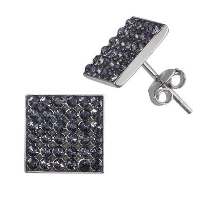 Ohrstecker Silber 925 Hochwertiger Kristall