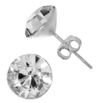 Ohrstecker Silber 925 Kristall