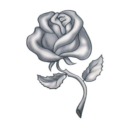 Fake-Tattoo Rose