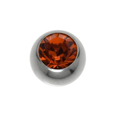 Piercing Titan Swarovski Kristall